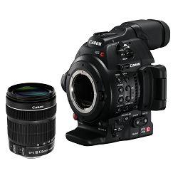 Canon Digitalna videokamera EOS C100 Mark II + EF-S 18-135 STM