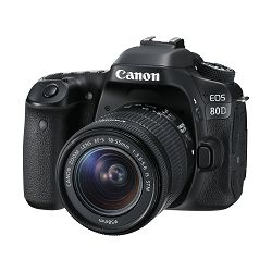 Canon Digitalni fotoaparat EOS 80D EF-S 18-55 IS STM