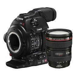 Canon Digitalna videokamera EOS C100 Mark II + 24-105 II L 4.0