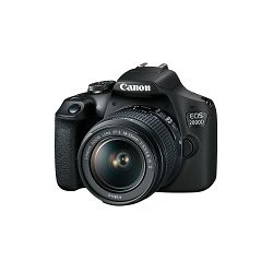 Canon Digitalni fotoaparat EOS 2000D + EF-S 18-55mm IS
