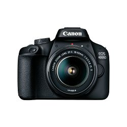 Canon Digitalni fotoaparat EOS 4000D BK 18-55