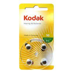 Kodak Baterija za slušni aparat Zink Air KP10-4B