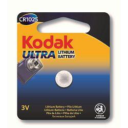 Kodak Baterija ULTRA Lithium CR1025