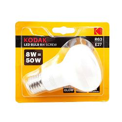 Kodak Žarulja LED R63 E27 640lm Warm 8W/50W Non Dim IC Driver