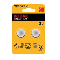 Kodak Baterija MAX Lithium CR2025 batteries (2 pack)