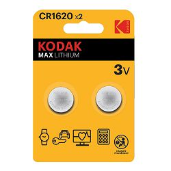 Kodak Baterija MAX Lithium CR1620 batteries (2 pack)