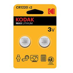 Kodak Baterija MAX Lithium CR1220 batteries (2 pack)