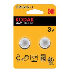 Kodak Baterija MAX Lithium CR1616 batteries (2 pack)