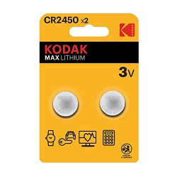 Kodak Baterija MAX Lithium CR2450 batteries (2 pack)