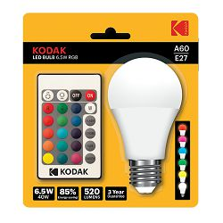 Kodak Žarulja LED Bulb 6W RGB, 16 colour variation, Remote control