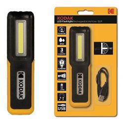 Kodak LED Flashlight Rechargeable Multiuse 150R