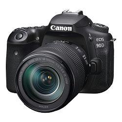 Canon Digitalni fotoaparat EOS 90D EF-S 18-135mm IS USM