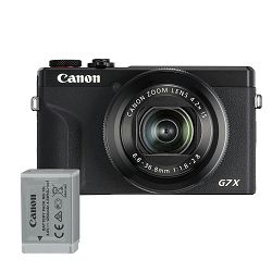Canon Digitalni fotoaparat Powershot G7x Mark III BK BATTERY KIT