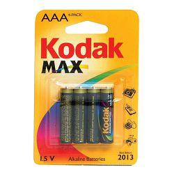 Kodak Baterija MAX Super Alkaline K3A-4P