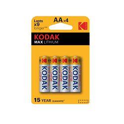 Kodak Baterija ULTRA Lithium KAAFR-4P