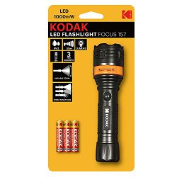 Kodak Baterijska svjetiljka LED Flashlight Focus 157 (1000mW) + 3xAAA