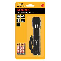 Kodak Baterijska svjetiljka LED Flashlight Ultra 60 + 3xAAA