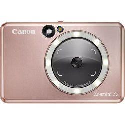 Canon Instant Camera Printer Zoemini S2 (Rose Gold)