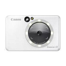 Canon Instant Camera Printer Zoemini S2 (Pearl White)
