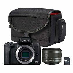 Canon Mirrorless Camera EOS M50 Mark II + EF-M 15-45mm + torbica + 16GB kartica