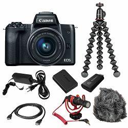 Canon Mirrorless Camera EOS M50 Mark II Premium Live Stream KIT