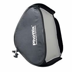 "Phottix Dodatna oprema Easy-Folder Softbox Deluxe Kit with Round Mask and Grid 60x60cm (24""x24"") / For Photo Studio Strobe Flash / Camera Flash"