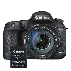 Canon Digitalni fotoaparat EOS 7D II+EF18135IS + W-E1