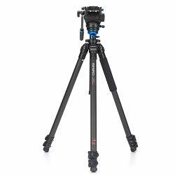 Benro Video stativ Aero4 Video Tripod Kit Flip Lock with S4 head A2883FS4