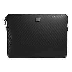 AcmeMade Torba Smart Laptop Sleeve, PC16 (Matte Black Chevron)