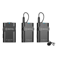 Boya mikrofon BY-WM4 Pro K2 Wireless za DSLR i Smartphone (one receiver, two transmitter)