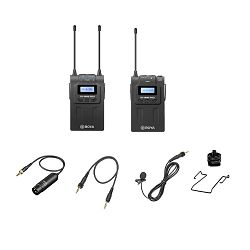 Boya mikrofon BY-WM8 PRO-K1 UHF Dual-Channel Wireless Lavalier System (1 receiver, 1 transmitter)