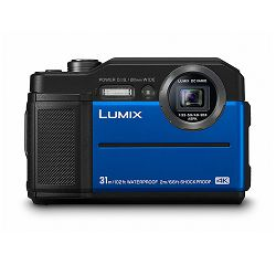 Panasonic Digitalni fotoaparat G DSLM LUMIX DC-FT7EP-A (Blue)