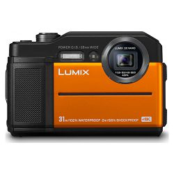 Panasonic Digitalni fotoaparat G DSLM LUMIX DC-FT7EP-D (Orange)