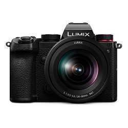Panasonic Digitalni fotoaparat LUMIX S5 + Lumix S 20-60mm f/3.5-5.6