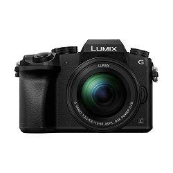 Panasonic Digitalni fotoaparat G DSLM LUMIX DMC-G7MEG-K (Objektiv: H-FS12060 Lumix G Vario 12-60mm f/3.5-5.6 ASPH. POWER O.I.S. Lens) Crni