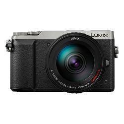 Panasonic Digitalni fotoaparat G DSLM LUMIX DMC-GX80HEGS (Objektiv: H-FS14140 Lumix G Vario 14-140mm/f3,5-5,6 ASPH. POWER O.I.S.) Srebrni