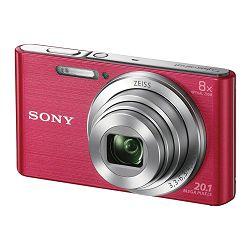 SONY Digitalni fotoaparat DSC-W830 Pink