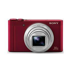 SONY Digitalni fotoaparat Cyber-shot DSC-WX500 Crveni