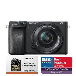 SONY Digitalni fotoaparat Alpha a6400 KIT PZ 16-50mm