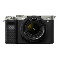 SONY Mirrolrless Camera Alpha a7C + FE 28-60mm f/4-6.3 (Silver)
