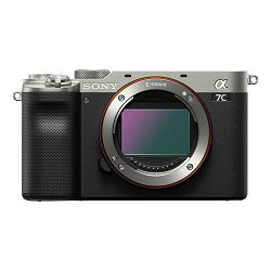 SONY Mirrolrless Camera Alpha a7C Body (Silver)