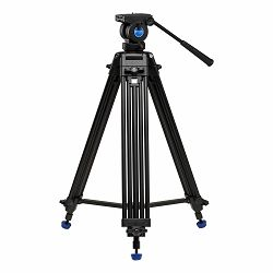 Benro Video stativ KH25N Aluminium Dual-Tube Twist-lock 3-Section tripod with K5 Video Head Kit KH25N
