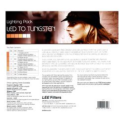 LEE Filters LED to Tungsten Lighting Pack (LEDTP)