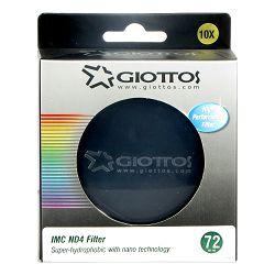 Giottos Dodatna oprema Neutral Density Filter -ND4 Series 72MM LN87207ND4