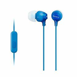 SONY Slušalice MDR-EX15LP / 15AP koje se umeću u uho Blue