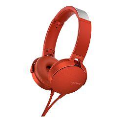 SONY Slušalice MDR-XB550AP sa značajkom EXTRA BASS™ Red