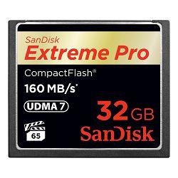 SanDisk Memorijska kartica SDCFXPS-032G-X46 Extreme Pro CF 160MB/s 32 GB VPG 65, UDMA 7