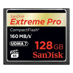 SanDisk Memorijska kartica SDCFXPS-128G-X46 Extreme Pro CF 160MB/s 128 GB VPG 65, UDMA 7