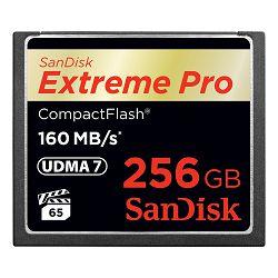 SanDisk Memorijska kartica SDCFXPS-256G-X46 Extreme Pro CF 160MB/s 256 GB VPG 65, UDMA 7