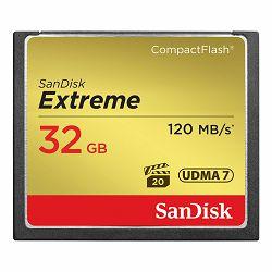 SanDisk Memorijska kartica SDCFXSB-032G-G46 Extreme CF 120MB/s, 85MB/s write, UDMA7, 32GB